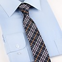 billige Tilbehør til herrer-Herre Fest Kontor Grunnleggende Slips Ruter Polyester