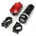 olcso Kerékpár világítás-Kerékpár első lámpa / Kerékpár hátsó lámpa / Újratölthető biciklilámpa LED Kerékpár világítás - Kerékpározás Vízálló AAA 100 lm AkkumulátorBattery Kempingezés / Túrázás / Barlangászat / Mindennapokra
