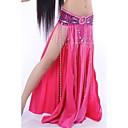 cheap Dance Accessories-Belly Dance Skirt Women's Performance Elastic Silk-like Satin Natural