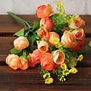 billige Kunstig Blomst-Kunstige blomster 1 Gren Enkel Stil Camellia Bordblomst