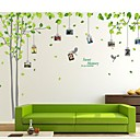 cheap Wall Stickers-Photo Stickers - Plane Wall Stickers Landscape Living Room / Bedroom / Study Room / Office / Removable