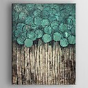 cheap Abstract Paintings-Oil Painting Hand Painted - Abstract Classic Traditional Canvas