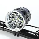 billige Sensorer og alarmer-Forlygte til cykel LED Cykellys XM-L2 T6 Cykling Vandtæt, Nedslags Resistent, Genopladelig 18650 Batteri Camping / Vandring / Grotte Udforskning / Dagligdags Brug / Cykling / IPX-4 / Flere tilstande