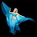 abordables Accesorios de Baile-Danza del Vientre Tops Mujer Entrenamiento Poliéster Lentejuela Sujetadores / Sala de Baile