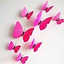 baratos Adesivos de Parede-Moda Formas 3D Adesivos de Parede Autocolantes de Aviões para Parede Autocolantes de Parede Decorativos, PVC Decoração para casa Decalque