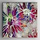 billige Abstrakte Malerier-Hang-Painted Oliemaleri Hånd malede - Abstrakt Moderne Lærred