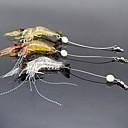 hesapli Çerez Araçları-3 adet Yumuşak Yem Przynęty wędkarskie Karides Yumuşak Yem Yumuşak Plastik Parlak Deniz Balıkçılığı Tatlı Su Balıkçılığı Balık Yemi