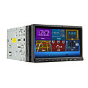 abordables Reproductores DVD para Coche-7 pulgada 2 Din Windows CE En tablero reproductor de DVD Bluetooth Integrado / iPod / RDS para Apoyo / Control de Volante / Salida para Subwoofer / Pantalla Táctil / Soporte SD / USB / DVD-R / RW