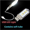 abordables Éclairages Originaux-1pc LED Night Light Lampe de Lecture LED USB Décorative 220V