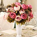billige Kunstig Blomst-Kunstige blomster 1 Afdeling Moderne Stil Pæoner Bordblomst