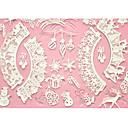baratos Artigos de Forno-quatro c molde do bolo mat esteira do cozimento do bolo rendas silicone para decoração, silicone mat fondant ferramentas bolo cor-de-rosa