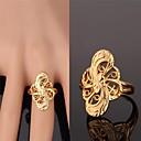 Χαμηλού Κόστους Μοδάτο Δαχτυλίδι-Γυναικεία Band Ring Επιχρυσωμένο Κράμα κυρίες Μοντέρνα Μοδάτο Δαχτυλίδι Κοσμήματα Χρυσαφί Για Γάμου Πάρτι Καθημερινά Causal Αθλητικά