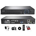 abordables Kit DVR-annke® 4ch hdmi ahd Code système de sécurité DVR de vidéosurveillance à distance vue / smartphone QR numériser un accès rapide (hdd 1To)