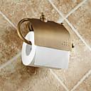 billige Toalettrullholdere-Toalettrullholder Antikk Messing 1 stk - Hotell bad