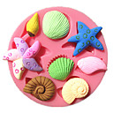 billige Ferie Tilbud-Bakeware verktøy Plast GDS Kake Rund Cake Moulds 1pc
