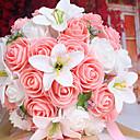 abordables Flores Artificiales-Flores Artificiales 1 Rama Ramos de Flores para Boda Lilas Flor de Mesa