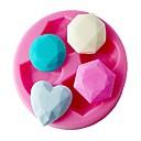 baratos Capas Para Tablet&Protetores de Tela-Ferramentas bakeware Plástico Bolo Moldes de bolos 1pç