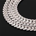cheap Men's Necklaces-Choker Necklace / Chain Necklace / Vintage Necklace - Rose Gold, Platinum Plated, Gold Plated Fashion Silver, Rose, Golden Necklace For Wedding, Party, Daily