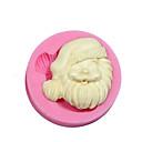 preiswerte Urlaub Angebote-Weihnachten Thema Silikonform Silikon Weihnachtsmann Süßigkeiten Form für Fondant fimo Gum Paste&Seife Schokolade