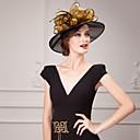 preiswerte Parykopfbedeckungen-Organza Hüte mit 1 Besondere Anlässe Kopfschmuck