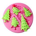 billige Ferie Tilbud-Bakeware verktøy Plast Kake Cake Moulds 1pc