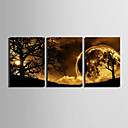 cheap Prints-Stretched Canvas Print Canvas Set Landscape Vertical Print Wall Decor Home Decoration