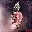 cheap Bracelets-Women's Ear Cuff - Dragon Personalized, Punk, European Bronze / Silver / Gray For Wedding Party Halloween