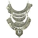 preiswerte Halsketten-Damen Halskette / Y Halskette - Medaillon, Blume Silber Modische Halsketten Schmuck Für Hochzeit, Party, Besondere Anlässe / Jahrestag / Verlobung / Geschenk / Alltag