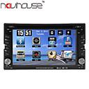 billige DVD-spillere til bilen-6.2 tommers 2 Din Windows CE 6.0 / Windows CE I-Instrumentpanel GPS / Pekeskjerm / Innebygget Bluetooth til Brukerstøtte / iPod / RDS / Rattkontroll / Styrekule & Pekeplate / Spill