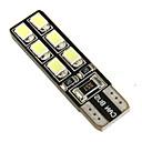 ieftine Lumini de Mașină Spate-SO.K 2pcs T10 Mașină Becuri 2.2 W SMD LED 12 Bec Semnalizare For Παγκόσμιο
