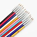 hesapli Tırnak Fırçaları-tırnak sanatı Fırçalar Klasik Yüksek kalite Günlük
