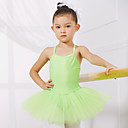cheap Ballet Shoes-Ballet Leotards Training / Performance Spandex / Tulle Sleeveless Princess Dress