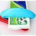 billige حمام منظمة-Badeværelsegadget Reisen / Multifunksjonell / Økovennlig Mini Plast 1 stk - Baderom Tannbørste og tilbehør / Gave