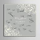 billige Innrammet kunst-Særlige Rammer & Plader Papir Hage Tema / Bryllup Med Mønster Bryllupstilbehør