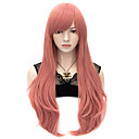 billige Kostymeparykk-Syntetiske parykker / Kostymeparykker Rett / Naturlig rett Syntetisk hår Parykk Dame Veldig lang Lokkløs
