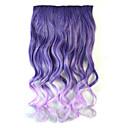 baratos Colares-Body Mix onda cor extensões de cabelo grosso sintéticas clip-on cabelos