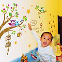cheap Wall Stickers-Animals Cartoon Wall Stickers Animal Wall Stickers Decorative Wall Stickers, Vinyl Home Decoration Wall Decal Wall