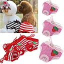 cheap Dog Clothes-Cat Dog Pants Dog Clothes Polka Dot Bowknot Red Pink Cotton Costume For Pets Cosplay Wedding