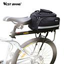 olcso Túratáskák csomagtartóra-Kerékpáros túratáska Alumínium ötvözet Mountain bike Treking bicikli Kerékpározás / Kerékpár - Fekete