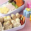 billige Kjøkkenredskap-søt bjørn blomst kanin sandwich mold sushi kake mold egg cutter