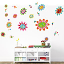 cheap Wall Stickers-Decorative Wall Stickers - Plane Wall Stickers Romance Florals Cartoon Botanical Living Room Bedroom Bathroom Kitchen Dining Room Study