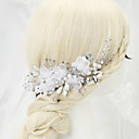 abordables Juegos de Joyería-Perla Artificial / Brillante / Legierung Peines de pelo con 1 Boda / Ocasión especial Celada