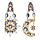 preiswerte Modische Ohrringe-Damen Tropfen-Ohrringe - Diamantimitate MOON Luxus, Europäisch, Modisch Farbbildschirm Für