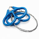 cheap Camping Tools, Carabiners & Ropes-Steel Wire Saw / Saws Multi Function, Convenient for Camping / Outdoor / Travel - Stainless Steel / Plastic
