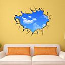 billige Veggklistremerker-Dekorative Mur Klistermærker - 3D Mur Klistremerker Landskap / Romantik / Mote Stue / Soverom / Baderom