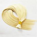 billige Hairextension med naturlig farge-3 pakker Peruviansk hår Rett 8A Menneskehår Vevet Hårvever med menneskehår Hairextensions med menneskehår