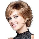 preiswerte Haarteil-Synthetische Perücken Locken Synthetische Haare Perücke Damen Kurz Kappenlos