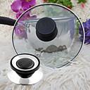 baratos Utensílios & Gadgets de Cozinha-Substituição de tampa de panelas universal parafuso lidar com tampa do utensílio circular botão de retenção