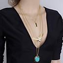 preiswerte Modische Halsketten-Damen Anhängerketten - Harz Europäisch, Modisch Golden Modische Halsketten Für Party, Alltag, Normal