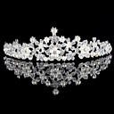 cheap Party Headpieces-Alloy Tiaras with 1 Wedding / Special Occasion Headpiece